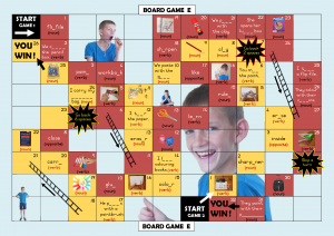 Board Games 1 for Literate Learners